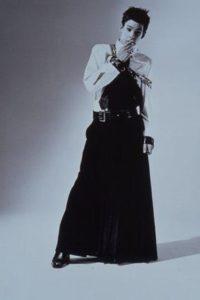 Jupe masculine de Jean-Paul Gaultier, collection Automne/Hiver 2001-2002
