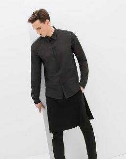 Le pantalon-jupe de Zara