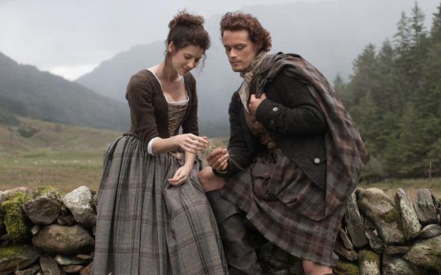 Outlander, Claire et Jaimie